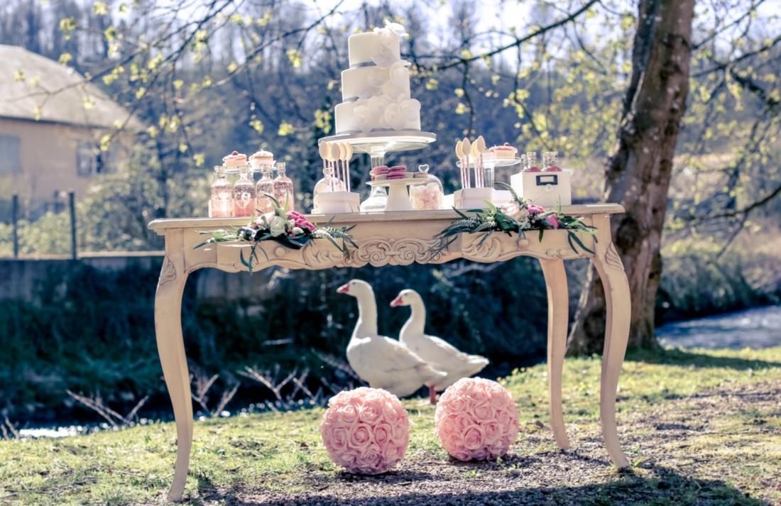 Sweet Table au bord de l'eau